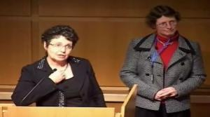 Susan Albersheim and Anne Synnes