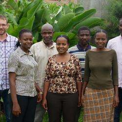 Some of the Pocket Doc for Pneumonia Team in Uganda